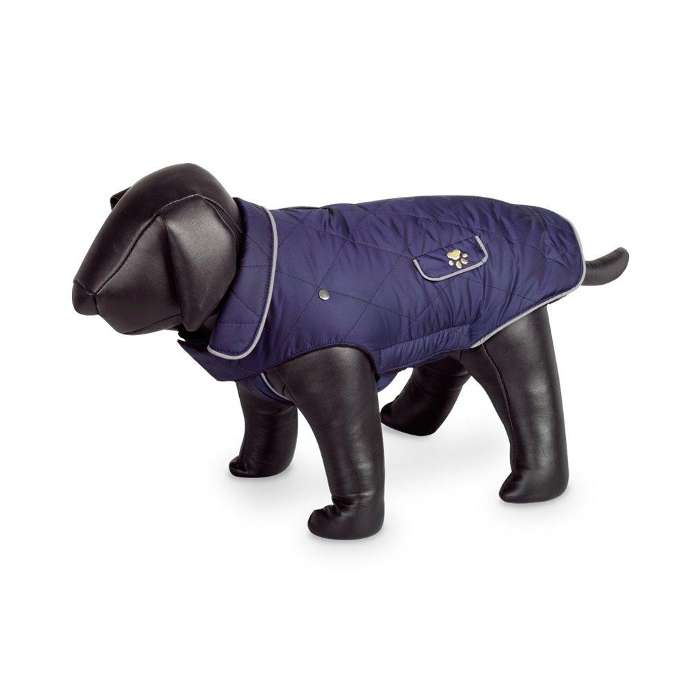 Navy 12.5in Navy 12.5in Nobby Marlon Waterproof Dog Coat (12.5in) (Navy)