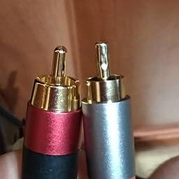 AmazonBasics - Cable de audio RCA (1 macho a 2 machos), 2,4 metros ...