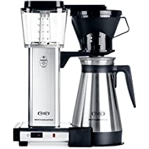 Technivorm Moccamaster 79112 Coffee Brewer, 40 oz, Polished Silver