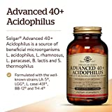 Solgar Advanced 40 Plus Acidophilus 120 Vegetable