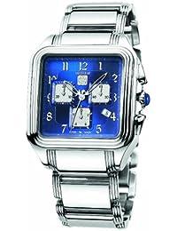 Roberto Cavalli Men's R7253692035 VENOM Silver/Blue Stainless Steel Watch