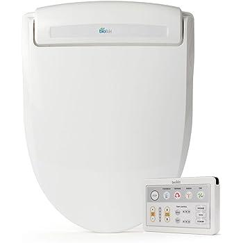 Biobidetsupreme Bb 1000 Round White Bidet Toilet Seat