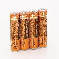 4pcs AAA battery HHR-4DPA For Panasonic Cordless Phone 1.2V 700mAh Original New Rechargeable NI-MH with Case