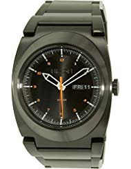 Nixon Mens A358-577-00 Don II Analog Display Japanese Quartz Black Watch