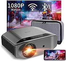 Artlii Videoprojecteur Full HD WiFi Bluetooth - ENERGON 2,WiFi Bluetooth,Projecteur 1080P,Soutiens 4K,Retroprojecteur...
