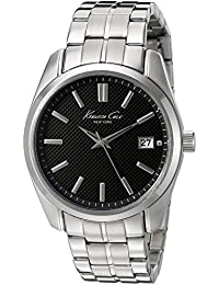 Kenneth Cole New York Men's 10024356 Classic Analog Display Japanese Quartz Silver Watch