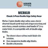 Merkur Double Edge Safety Razor Extra Long