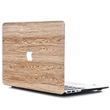 """MacBook Pro 15 Case 2016,L2W MacBook Pro 15"""" Hard Shell Plastic Cover Protective Case for 15-inch MacBook Pro Retina with Multi-Touch Bar Display Model A1707 (USB-C) (2016 Oct. Release) [Water Wood Texture-8]"""