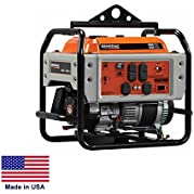 Portable Generator Commercial - 4,500 Watt - 4.5 kW - 120/240V - 9 Hp - Recoil