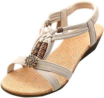 Boomboom_Sandals Summer Sandals,Boomboom 2018 Casual Women Young Girls Peep-Toe Flat Buckle Shoes Roman Summer Sandals