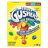 Betty Crocker Gluten Free Gushers Gushin Grape/Tropical, 6-Count, 138 Gram