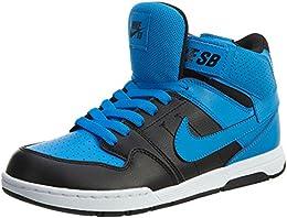 Boy's Mogan Mid 2 JR Shoe Photo Blue/Photo Blue-Black-White 5.5 M US Big Kid