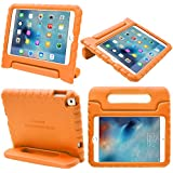 iPad Mini 4 Case, i-Blason Apple iPad Mini 4 Case for Kids [ArmorBox Kido Series] Light Weight Super Protection Convertible Stand Cover 2015/2018 Release (Orange)