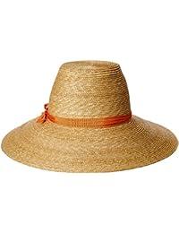 Womens Cote dAzur Fine Milan Straw Sun Hat Rated, UPF 50+ For
