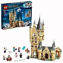 LEGO Harry Potter Torre de Astronomía Juguete Compatible con los Sets Gran Comedor de Hogwarts y Sauce Boxeador, Multicolor (75969)