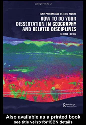 doing a dissertation in geography