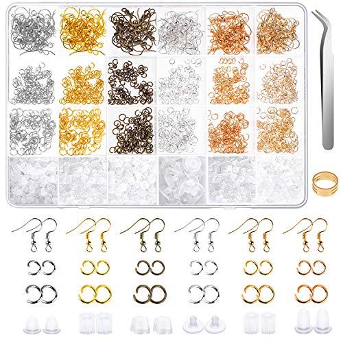 Earring Hooks Anezus 1900Pcs