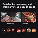 16 Pcs Mini Wooden Bead Maker, Carbide Ball