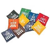 Champion Sports 5 inch Educational Bean Bag Sets