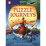 Puzzle Journeys 'Puzzle Journey Through Time', 'Puzzle Journey Through Space', 'Puzzle Journey Around the World (Usborne Puzz