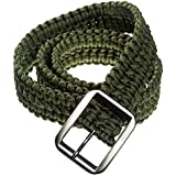 Best paracord survival belt - Campsnail EDC Survival Paracord Belt