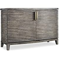 Hooker Furniture Melange 2-Door Delano Chest in Rustic Walnut
