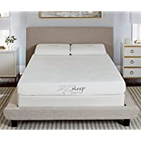 Nature's Sleep 800LP333 Gel Memory Foam Mattress, Twin