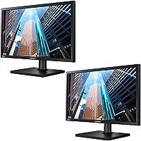 Samsung SE450 Series 24-inch LED Backlit LCD Screen Eco Friendly Matte Black 2-Pack Bundle