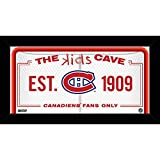 NHL Kids Cave Sign
