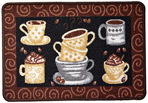 Tapete Boucle Cozinha Elegance 0.45 X 0.68, Niazitex, Estampado Niazitex Estampado
