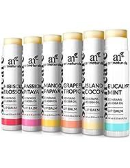 ArtNaturals Natural Lip Balm Beeswax - (6 x .15 Oz /...