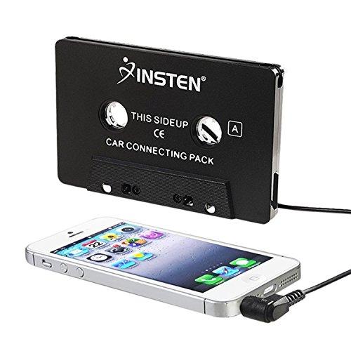INSTEN 3.5mm Universal Car Audio Cassette Adapter for Smartp
