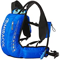MIRACOL Hydration Vest Running Hiking Camping Cycling Backpack with 2L BPA Free Bladder Keeps Liquid Cool Up to 4 Hours Lightweight Pack for