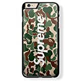 a bathing ape and supreme for iPhone 5/5s Black case