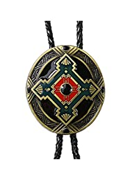 MonkeyJack Fashion Indian Totem Western Cowboy Rodeo Bolo Tie Tie Bola Pendant Necklace