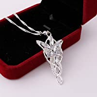 Thanyaluk New Fashion Lord Of The Rings pendant Arwens Evenstar Necklace Jewerly