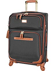 Steve Madden Luggage Large Softside 28 Expandable Suitcase With Spinner Wheels