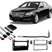 Fits Chevy Malibu 2008-2012 Single DIN Stereo Harness Radio Install Dash Kit
