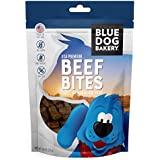 Blue Dog Bakery Deli Bite Dog Treats | All-Natural | Grain-Free | Beef | 7.8oz (Pack of 1)