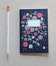 Hand Illustrated Mini Journal - Vintage Rose