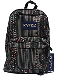 Classic Jansport Superbreak Backpack (Down Town Brown Camo Stripe (T5010EF))