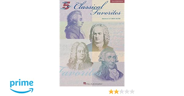 Classical Favorites  Songbook: Five-Finger Piano