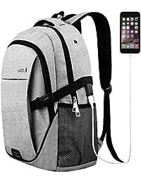 TR013008 Laptop Backpack for Men Women, Grey