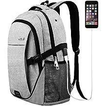 Trustbag TR013008 Laptop Backpack for Men Women, Grey