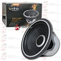 New Infinity 12 car audio subwoofer with selectable 4 or 2-ohm 2000 watts
