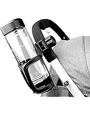 Titular de La Taza de La Rotación de 360 Grados del Estante del Almacenamiento del Universal para El Cochecito del Bebé Carrito de La Silla de Ruedas de La Bicicleta del Bebé Botella Negra