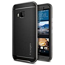 HTC One M9 Case, Spigen [METALLIZED BUTTONS] Neo Hybrid Series Case for HTC One M9 (HIMA) - Gunmetal (SGP11389)