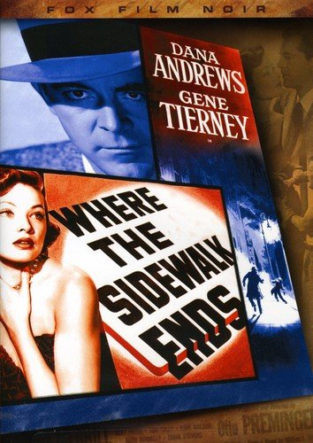 DVD : Where the Sidewalk Ends (Full Frame, Dubbed, Dolby, Sensormatic)