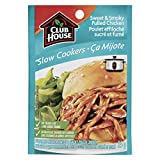 Club House Slow Cooker Sweet and Smokey Pulled Chicken Seasoning Mix 35gm (Pack of 4)