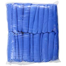 Groom Industries Blue Disposable Shoe Covers, 100 Count